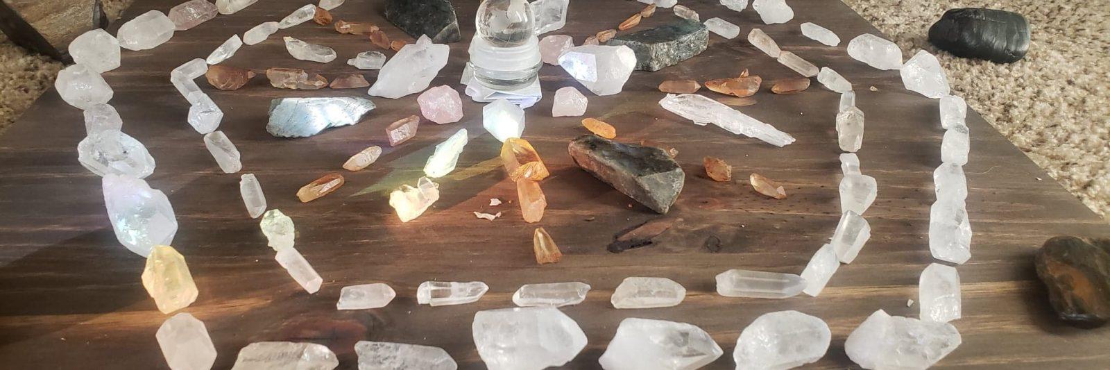 Crystal Healing Concepts Arizona crystal Layout